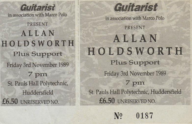 Allan Holdsworth 1989