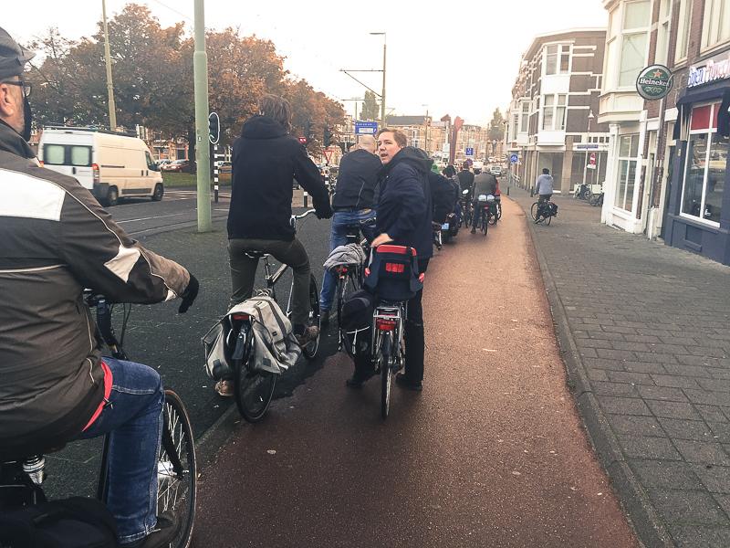 fietsfile, Rijswijkseplein
