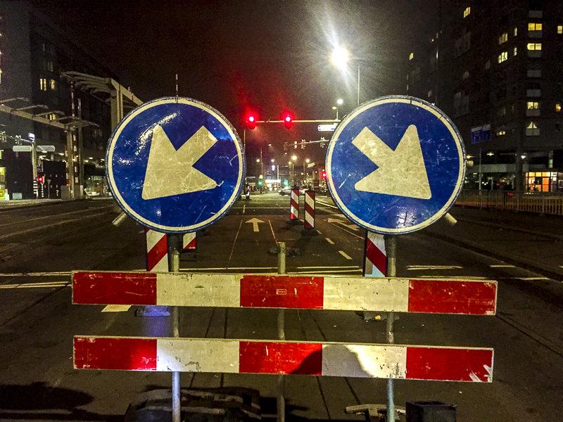 verkeersborden, Rijswijkseweg