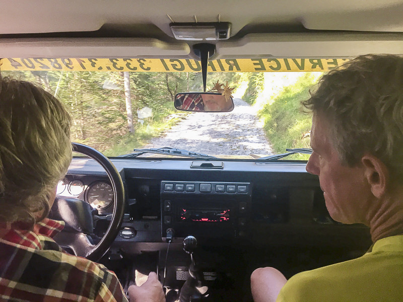 Taxi-Jeep