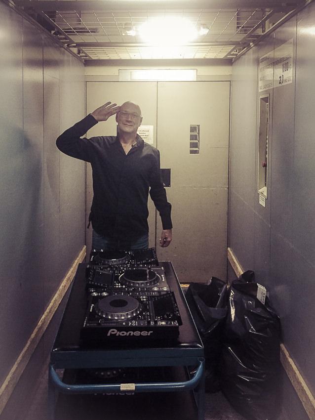 DJ-gear opruimen