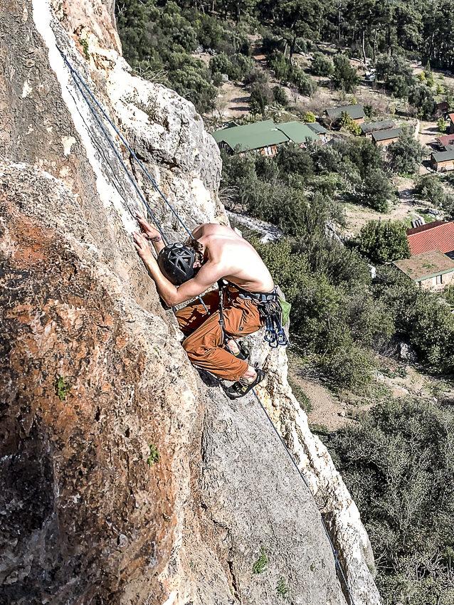 vermoeide klimmer