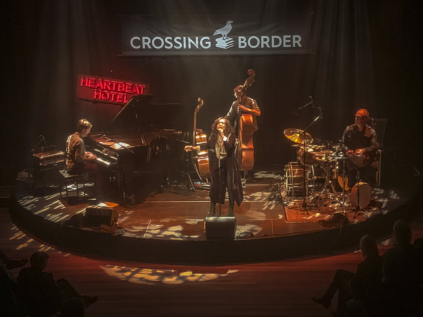 Mahsa Vahdat, Crossing Border