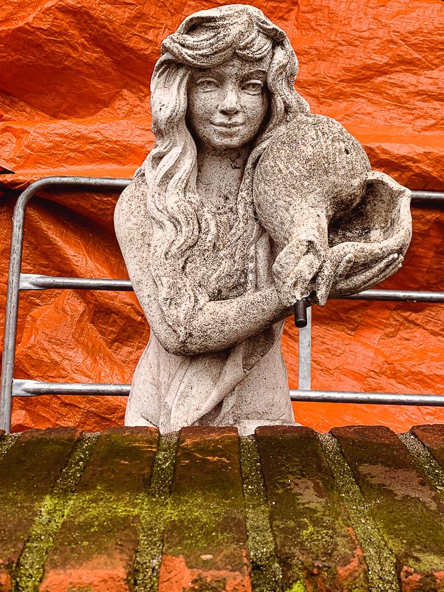 stenen vrouw