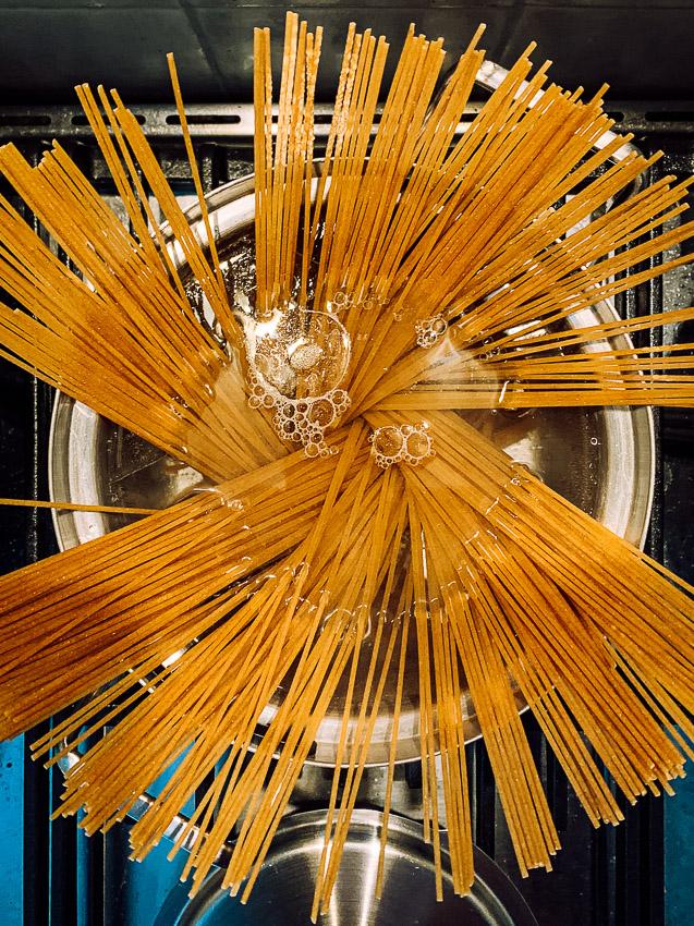 spaghetti in de pan #2