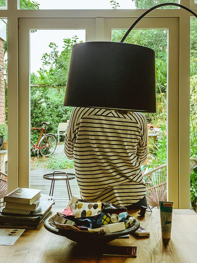 scheve lamp