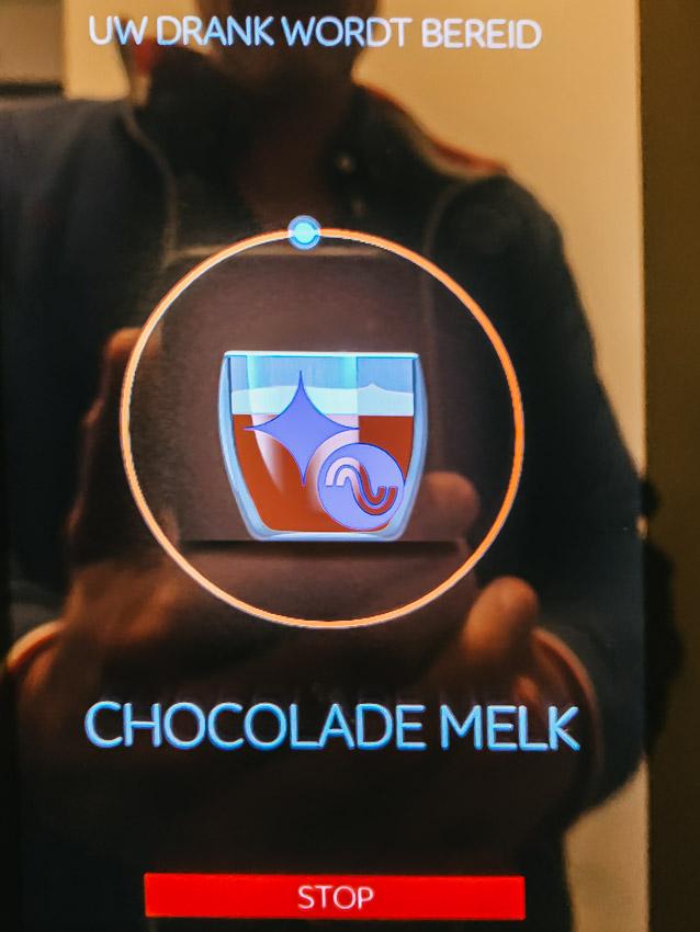 Ampco-Flashlight chocolademelk