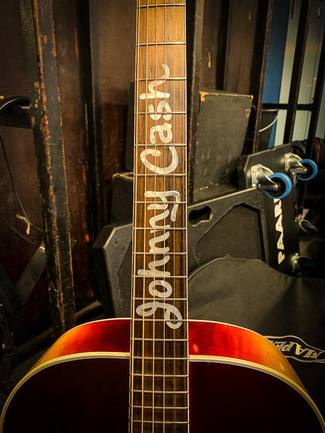 Johny Cash gitaar